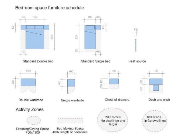 hs bedroom space furniture