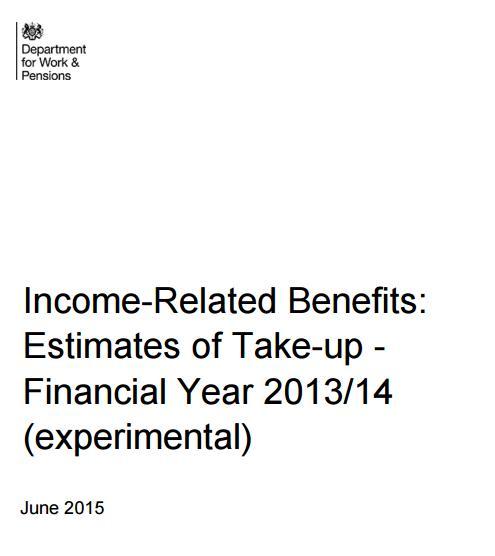 takeup report 201314