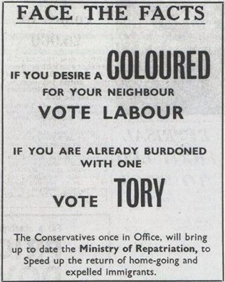 tory 1964 election poster