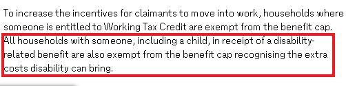 dwp lies on benefit cap
