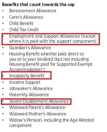 non exempt benefit cap benefits