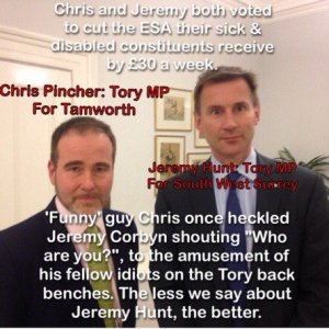 chris pincher jeremy hunt