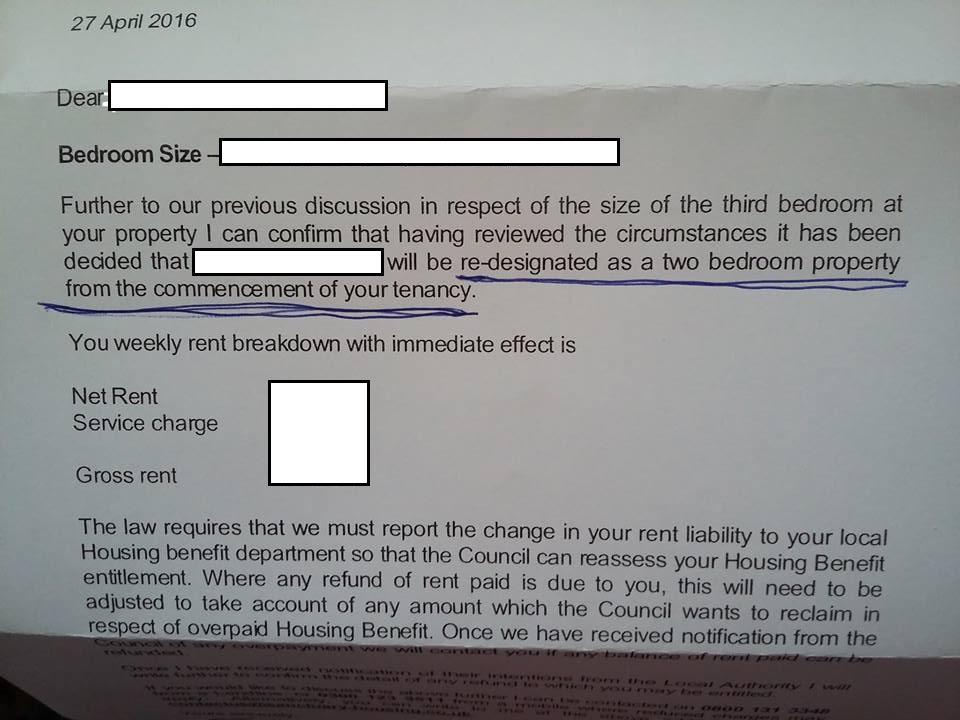 Bedroom tax, room size & tenant power – SPeye Joe (Welfarewrites)