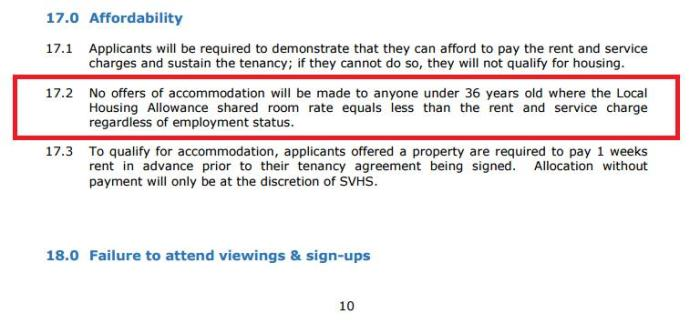 severn vale 3 policy detail