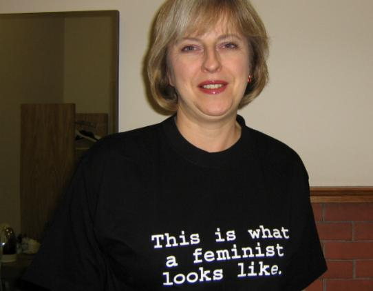 theresa may feminist