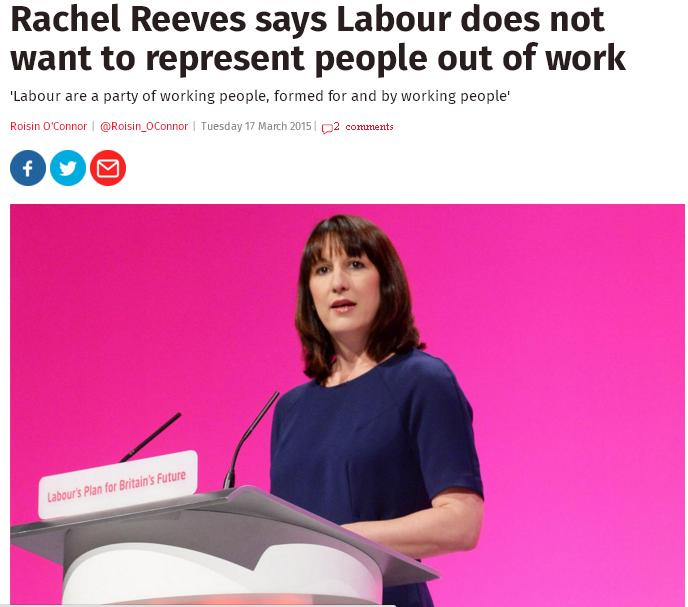 rachel reeves not party of welfare