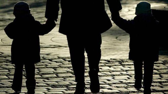 homeless-children-silhouette